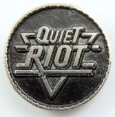 Quiet Riot - 'Logo' Cast Metal Badge